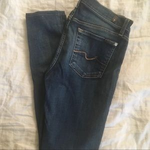 7 For All Mankind distressed gwenevere jean